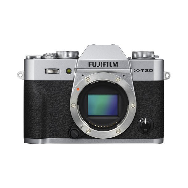 Fujifilm X-T20 Hus - Sølv