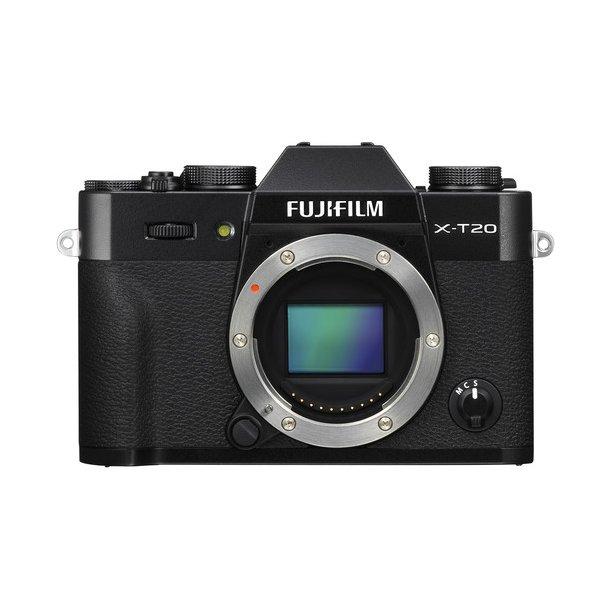 Fujifilm X-T20 Hus - Sort