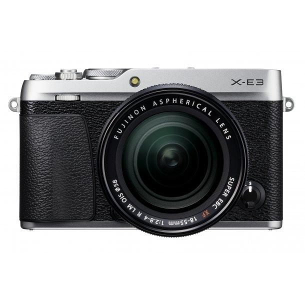 Fujifilm X-E3 + 18-55mm OIS - Sølv