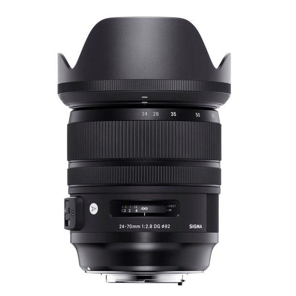 Sigma AF 24-70 f/2.8 DG OS HSM Art t/Canon