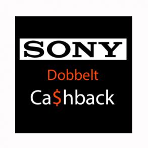 Sony Dobbelt Cashback