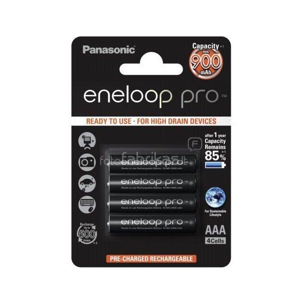 Panasonic Eneloop Pro Micro AAA 900 mAh - 4-pak