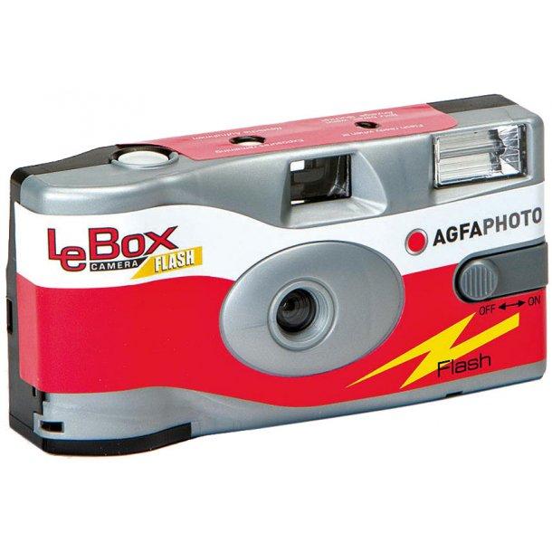 AgfaPhoto LeBox 400 Engangskamera m/blitz - 5 PK.