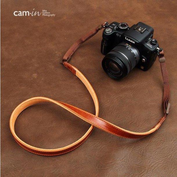 Cam-in Classic Læderrem Cognac CAM2252 (17MM)