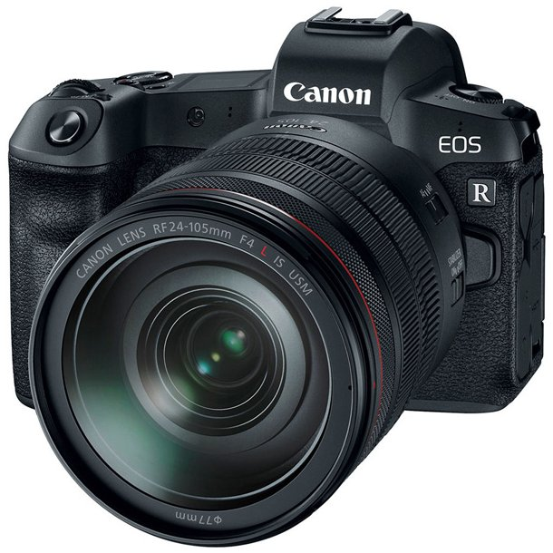 Canon EOS R + RF 24-105mm f/4L IS + Mount Adapter EF-EOS R