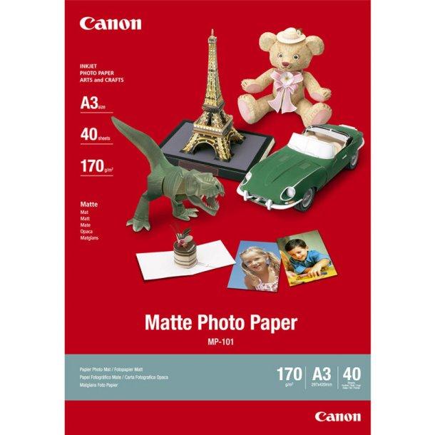 Canon MP-101 Matte Photo Paper 40/A3/170g