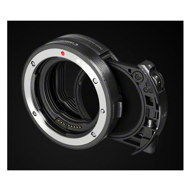 Canon Drop-In Filter Mount Adapter EF-EOS R + V-ND-Filter