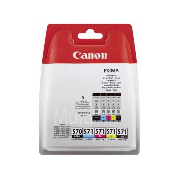 Canon PGI-570/CLI-571 Multipack (PGBK/C/M/Y/BK)