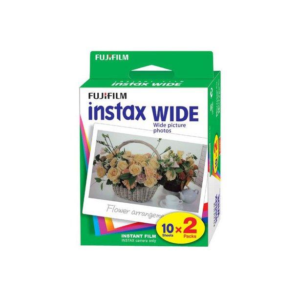 Fujifilm Instax Wide - 2 X 10 stk