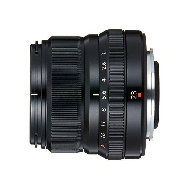 Fujifilm Fujinon XF23mm F2.0 R WR Sort