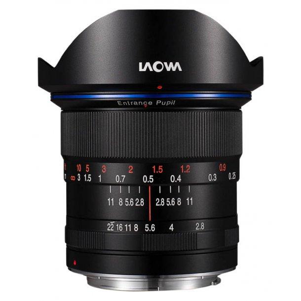 Laowa 12mm f/2.8 Zero-D t/Canon EF