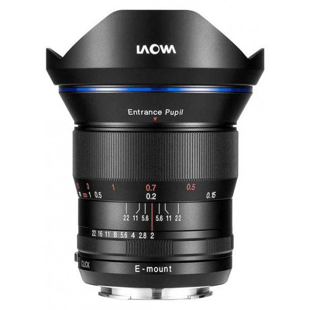 Laowa 15mm f/2 FE Zero-D t/Sony FE