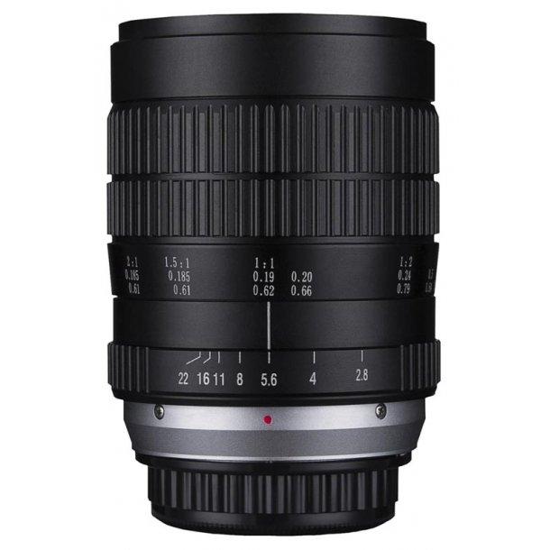 Laowa 60mm f/2.8 2X Ultra-Macro t/Nikon