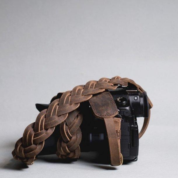 Barton 1972 The Leather Strap - Coffee 100cm