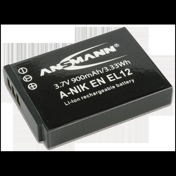 Ansmann EN-EL12 batteri til Nikon