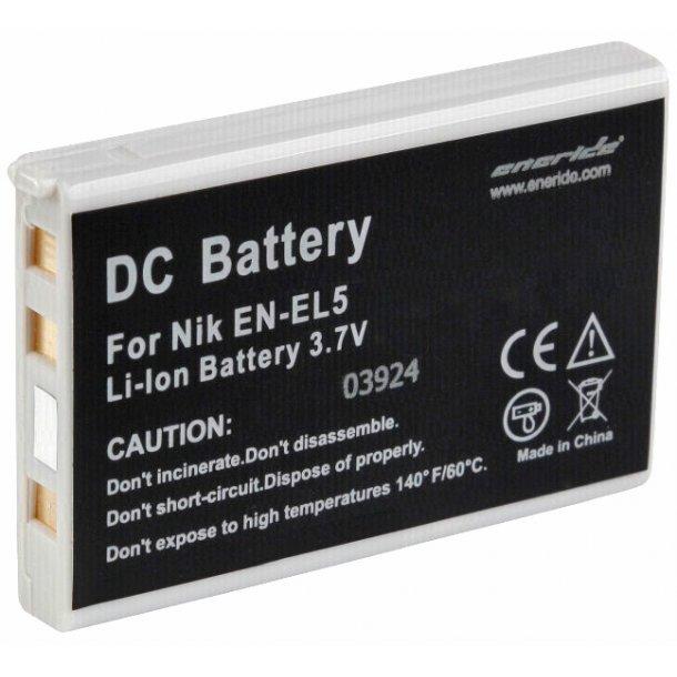 Eneride EN-EL5 batteri til Nikon