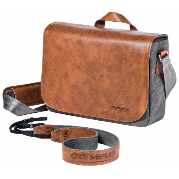 Olympus OM‑D Messenger Lædertaske
