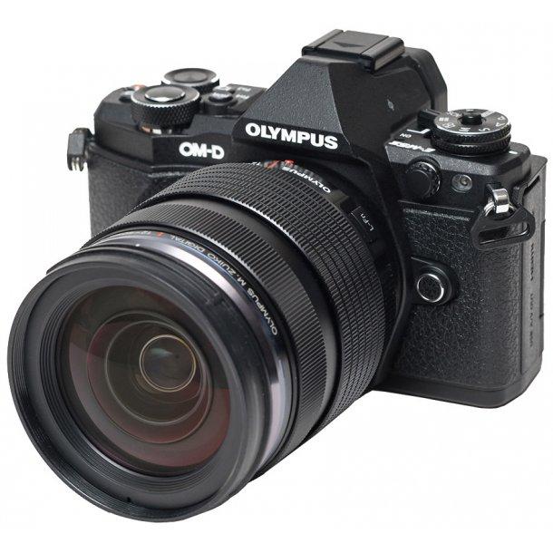 Olympus E-M5 Mark II m/ED 12-40mm 1:2.8 - Sort incl. HLD-8 + ekstra BLN-1
