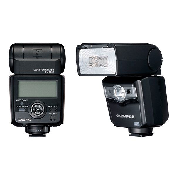 Olympus FL-600R Kraftig flash med LED