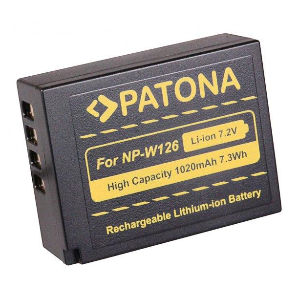 Patona NP-W126 Batteri til Fujifilm