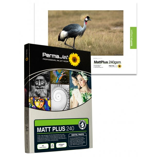 PermaJet Matt Plus 240 gsm A3+ 25 Ark