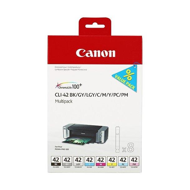 Canon CLI-42 Multipack - 8 stk