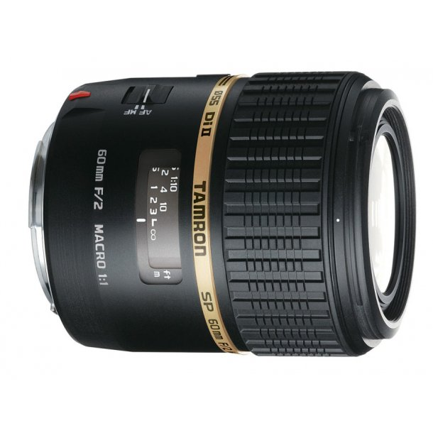 Tamron SP AF60mm F/2,0 Di II LD (IF) 1:1 t/Canon