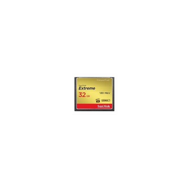 SanDisk Extreme CF 32.0 GB - 120 mb/sec.