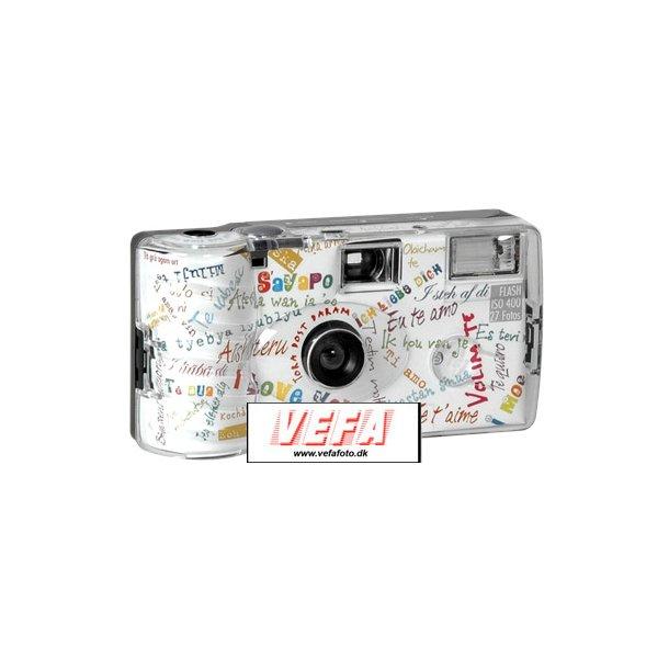 Engangskamera m/blitz