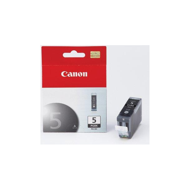 Canon PGI-5BK Sort