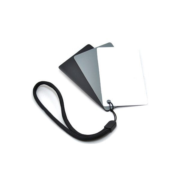 JJC GC-2 Digital Gray Card & White Balance 3in1