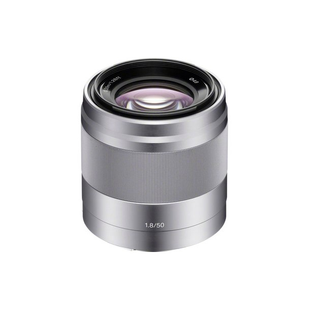 Sony SEL50 mm f/1,8 (SEL-50F18) Sølv