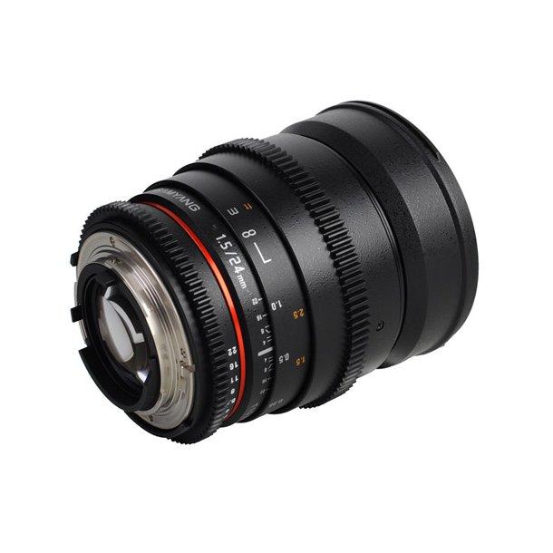 Samyang 24mm T1.5 ED AS IF UMC VDSLR II t/Nikon
