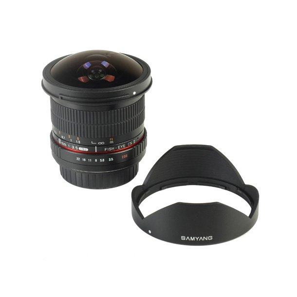 Samyang 8mm f/3.5 UMC Fish-eye CS II t/Canon