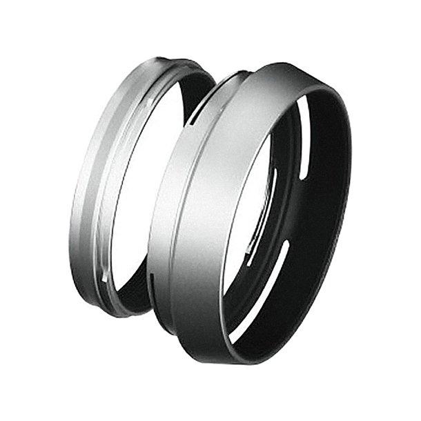 Fujifilm LH-X100 Lens Hood + Adapter - Sølv
