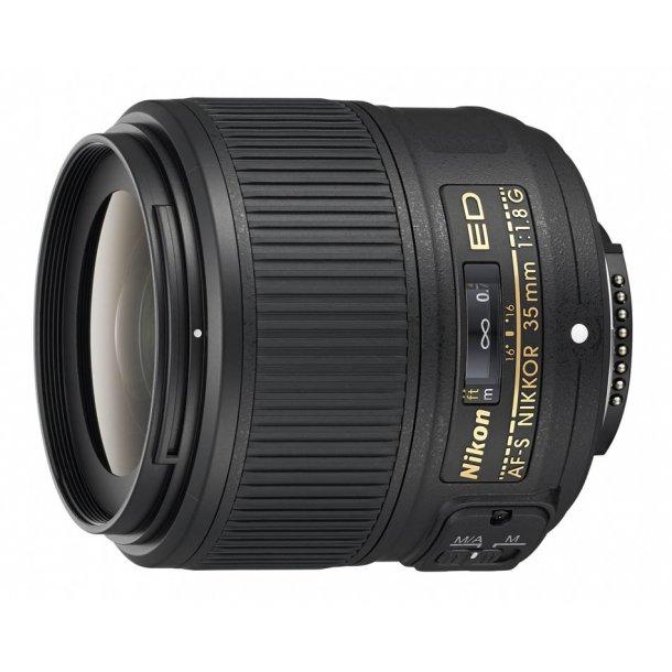 Nikon AF-S NIKKOR 35mm f/1.8G ED (FX)