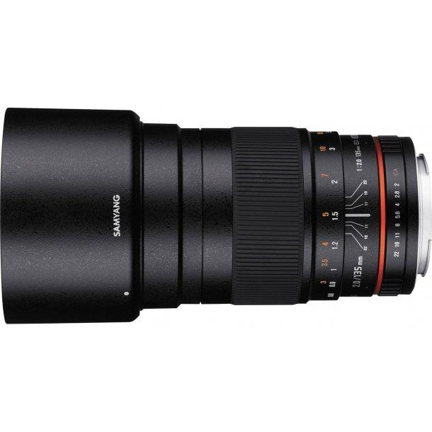 Samyang 135mm f/2.0 ED UMC Lens t/Fujifilm X