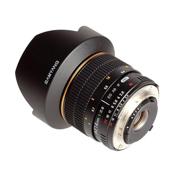 Samyang 14mm f/2.8 ED AS IF UMC t/Nikon (AE)