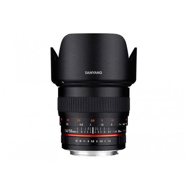 Samyang AF 50mm F1.4 FE t/Sony E-Mount