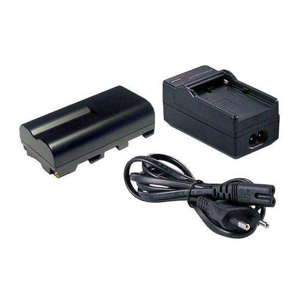 Falcon Eyes SP-CHG Lader + Batteri NP-F550 Sæt