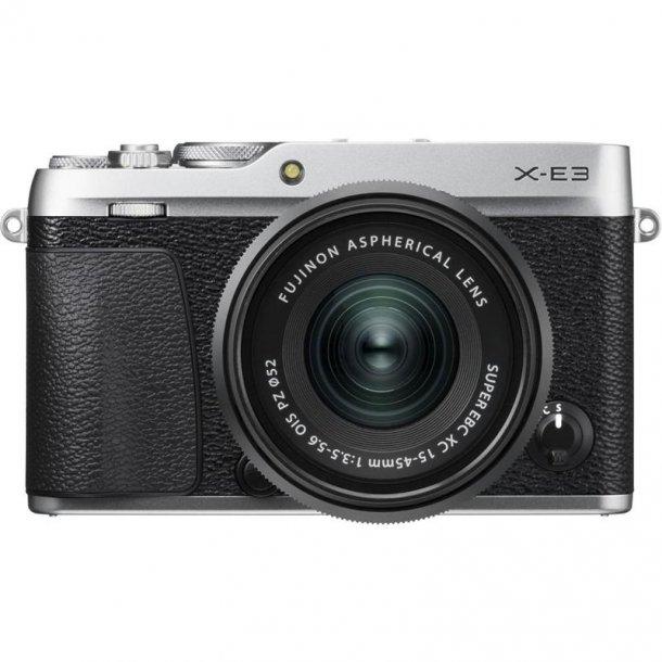 Fujifilm X-E3 M/ XC15-45mm f/3.5-5.6 OIS PZ - Sølv